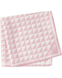 Prada プリント スカーフ - ピンク