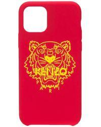 KENZO タイガー Iphone 11 ケース - レッド