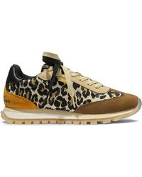 Marc Jacobs The Leopard Jogger スニーカー - ブラウン