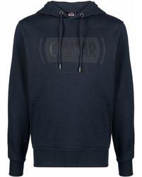 Colmar Logo-print Cotton Hoodie - Blue