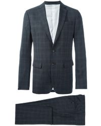 DSquared² - Checked Suit - Lyst