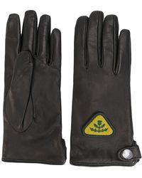 DIESEL - Patch Detail Gloves - Lyst