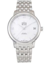 Omega Pre-owned De Ville Prestige Co-Axial Armbanduhr, 32.7mm - Weiß
