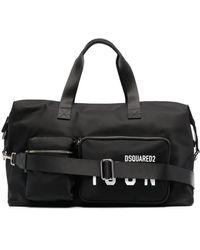 DSquared² Logo-print luggage Bag - Black