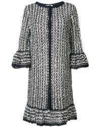 Charlott - Long Knit Coat - Lyst