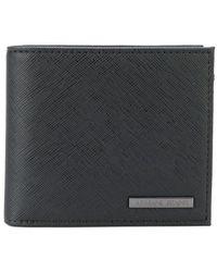 Armani Jeans - Logo Plaque Billfold Wallet - Lyst