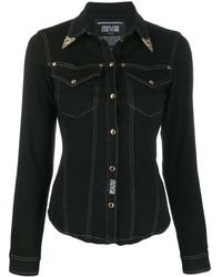 Versace Jeans Couture Giacca denim Saloon - Nero