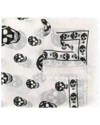 Alexander McQueen Шарф 'skull' - Многоцветный