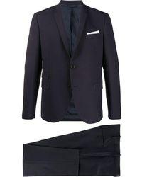 Neil Barrett ツーピース スーツ - ブルー