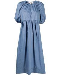 The Great Ravine ボタンドレス - ブルー