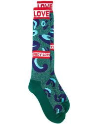 CHARLES JEFFREY LOVERBOY Monster 靴下 - グリーン