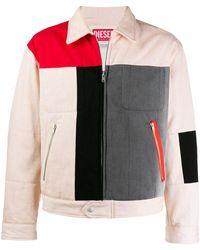 Diesel Red Tag Colour-block Jacket - Multicolour