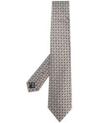 Giorgio Armani - Dot And Rectangle Necktie - Lyst