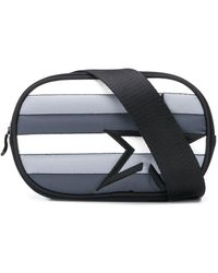 Perfect Moment Star Patch Quilted Belt Bag - Black