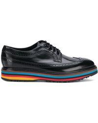 Paul Smith Derby-Schuhe aus Leder - Schwarz