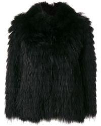 Twin Set - Racoon Fur - Lyst