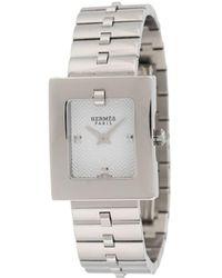 Hermès Наручные Часы 2000-х Годов Pre-owned - Металлик