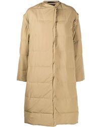 Givenchy オーバーサイズ パデッドコート - ナチュラル