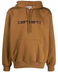 Carhartt WIP ドローストリング パーカー - ブラウン