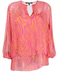 Luisa Cerano - Abstract-print Blouse - Lyst