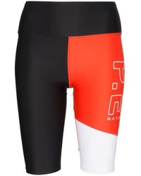 P.E Nation Benchwarmer Cycling Shorts - Black