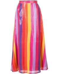 Olivia Rubin スパンコール スカート - ピンク