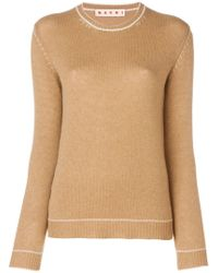 Marni - Fitted Silhouette Sweater - Lyst
