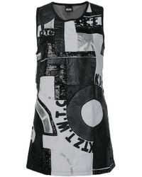 KTZ - Patchwork Mini Dress - Lyst