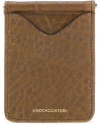Ugo Cacciatori フラップ財布 - マルチカラー