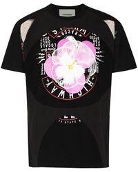 Liam Hodges Splinter Print T-shirt - Black