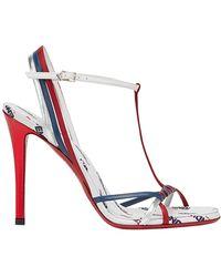 Fendi - Mania Strappy Stiletto Sandals - Lyst