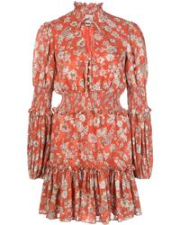 Alexis Robe courte Rosewell - Rouge