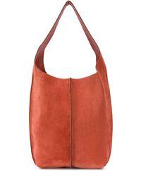 Acne Studios Top Handle Tote Bag - Orange