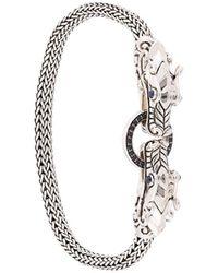 John Hardy Legends Naga Double Dragon Head Small Chain Bracelet - Metallic