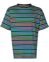 Missoni ストライプ Tシャツ - ブルー