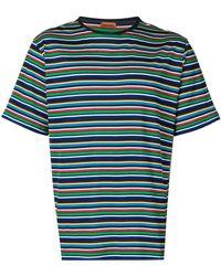 Missoni Camiseta con motivo de rayas - Azul