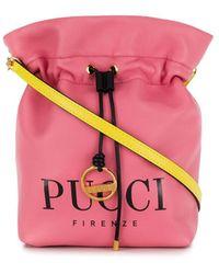 Emilio Pucci 'Bonita' Beuteltasche - Pink