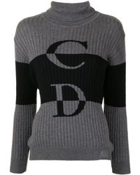 Dior Джемпер Pre-owned С Логотипом Cd - Серый