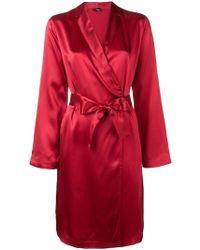 La Perla Korte Kimono Japon - Rood