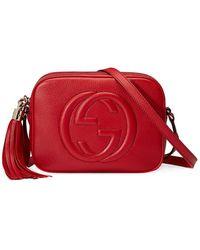 Gucci Soho Disco Shoulder Bag - Metallic