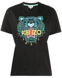 KENZO - タイガープリント Tシャツ - Lyst