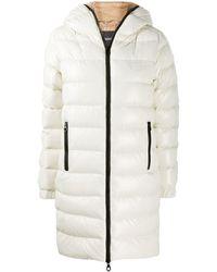 Duvetica Hooded Puffer Jacket - White