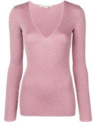 Stella McCartney - Lurex Sweater - Lyst