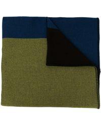 Colville カラーブロック スカーフ - グリーン