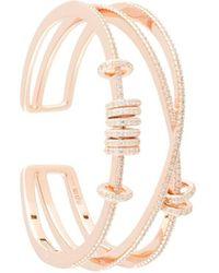 Apm Monaco Armspange mit Ringen - Mehrfarbig