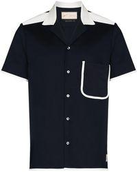 PREVU Lincoln Short Sleeve Shirt - Blue