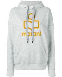 Étoile Isabel Marant - 'Marant' Kapuzenpullover mit Logo - Lyst