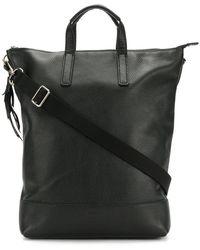 Lyst - Yohji Yamamoto Draped Backpack in Black c50c6caac1