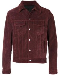 AMI - Buttoned Jacket - Lyst