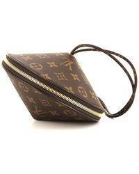 Louis Vuitton Клатч Toupie Pre-owned - Коричневый